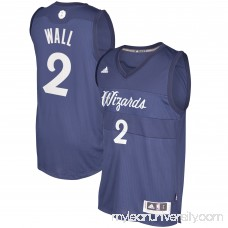 Men's Washington Wizards John Wall adidas Blue 2016 Christmas Day Swingman Jersey - 2505362