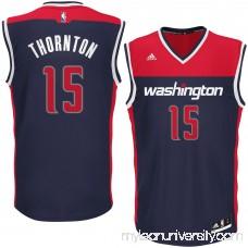 Men's Washington Wizards Marcus Thornton adidas Blue Alternate Replica Jersey - 2626224