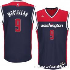 Men's Washington Wizards Sheldon McClellan adidas Blue Alternate Replica Jersey - 2626226
