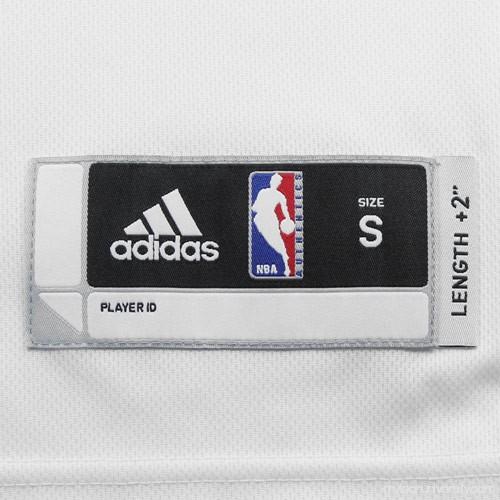 987610e84 Mens Brooklyn Nets Deron Williams adidas White Swingman Home Jersey - 883599