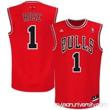 Mens Chicago Bulls Derrick Rose adidas Red Replica Road Jersey - 491820