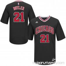 Mens Chicago Bulls Jimmy Butler adidas Black Replica Basketball Jersey -   2014866