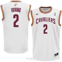 Mens Cleveland Cavaliers Kyrie Irving adidas White Replica Home Jersey -   878599