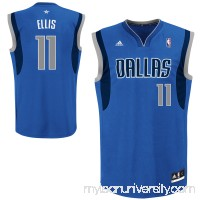 Mens Dallas Mavericks Monta Ellis adidas Royal Blue Replica Road Jersey -   1633505