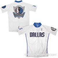 Mens Dallas Mavericks White Cycling MicroDry Jersey -   1950969