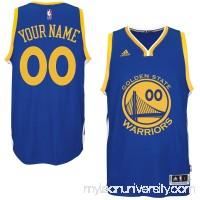 Mens Golden State Warriors adidas Royal Custom Swingman Road Jersey -   1785882