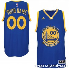 Mens Golden State Warriors adidas Royal Custom Swingman Road Jersey -   1785882