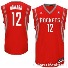 Mens Houston Rockets Dwight Howard adidas Red Replica Road Jersey - 1436250