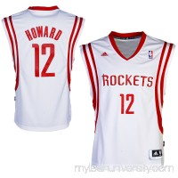 Mens Houston Rockets Dwight Howard adidas White Swingman Jersey - 1535371