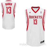 Mens Houston Rockets James Harden adidas White Replica Home Jersey -   1547376