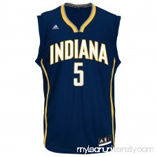 Mens Indiana Pacers Lavoy Allen adidas Navy Blue Replica Jersey - 2073484