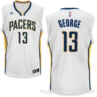 Mens Indiana Pacers Paul George adidas White Replica Jersey -   1926103