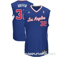 Mens LA Clippers Blake Griffin adidas Royal Blue Replica Alternate Jersey -   878858