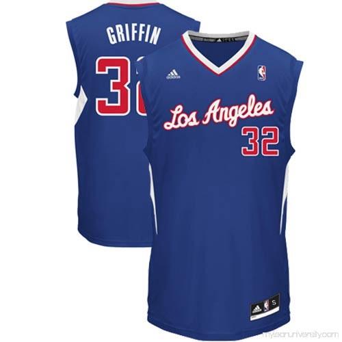45312b51884 Mens LA Clippers Blake Griffin adidas Royal Blue Replica Alternate Jersey -  878858