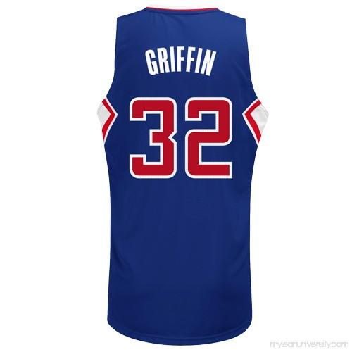 0ce19548743 Mens LA Clippers Blake Griffin adidas Royal Blue Swingman Alternate Jersey  - 883039