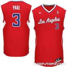 Mens LA Clippers Chris Paul adidas Red Replica Road Jersey - 782348