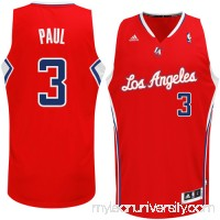 Mens LA Clippers Chris Paul adidas Red Swingman Road Jersey -   782366
