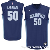 Mens Memphis Grizzlies Zach Randolph adidas Navy Blue Replica Road Jersey -   491847