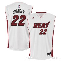 Mens Miami Heat Danny Granger adidas White Home Replica Jersey -   1949250