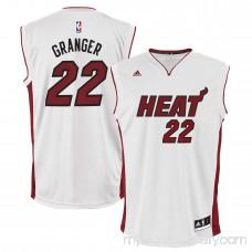 Mens Miami Heat Danny Granger adidas White Home Replica Jersey - 1949250