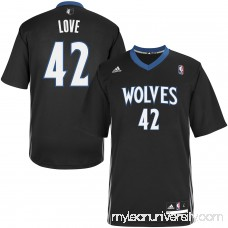 Mens Minnesota Timberwolves Kevin Love adidas Black Replica Alternate Jersey - 1618833