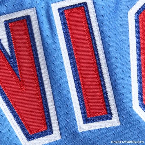 25142c0c3ad Mens New Jersey Nets Drazen Petrovic Mitchell & Ness Light Blue 1992  Authentic Basketball Jersey - 1834428