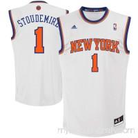 Mens New York Knicks Amar'e Stoudemire adidas White Replica Home Jersey -   879263