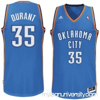 Mens Oklahoma City Thunder Kevin Durant adidas Light Blue Swingman Road Jersey -   491729