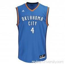 Mens Oklahoma City Thunder Nick Collison adidas Light Blue Replica Jersey -   2053540