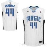 Mens Orlando Magic Andrew Nicholson adidas White Replica Home Jersey -   942375