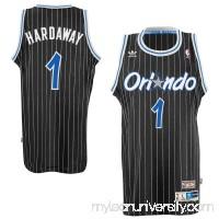 Mens Orlando Magic Penny Hardaway adidas Black Hardwood Classics Swingman Jersey -   1780980