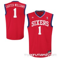 Mens Philadelphia 76ers Michael Carter-Williams adidas Red Replica Road Jersey -   1601903