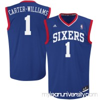 Mens Philadelphia 76ers Michael Carter-Williams adidas Royal Blue Replica Alternate Jersey -   1405929