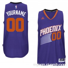 Mens Phoenix Suns adidas Purple Custom Swingman Road Jersey - 1785880