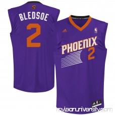 Mens Phoenix Suns Eric Bledsoe adidas Purple Replica Road Jersey - 1449411