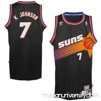 Mens Phoenix Suns Kevin Johnson adidas Black Hardwood Classics Swingman Jersey -   1774175