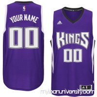Mens Sacramento Kings adidas Purple Custom Swingman Road Jersey -   1785872