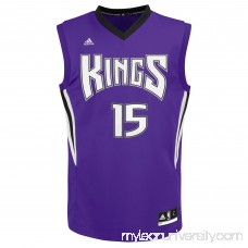 Mens Sacramento Kings DeMarcus Cousins adidas Purple Replica Road Jersey - 2083062