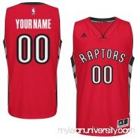 Mens Toronto Raptors adidas Red Custom Swingman Road Jersey - 1785876