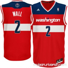 Mens Washington Wizards John Wall adidas Red Replica Road Jersey - 702733