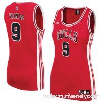 Women's Chicago Bulls Rajon Rondo adidas Red Road Replica Jersey -   2609198