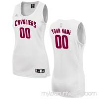 Women's Cleveland Cavaliers adidas White Custom Fashion Jersey -   2649719