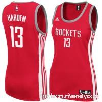 Women's Houston Rockets James Harden adidas Red Replica Jersey -   2144217