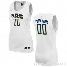 Women's Indiana Pacers adidas White Custom Fashion Jersey - 2649725