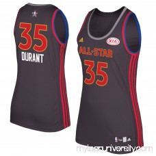 Women's Kevin Durant adidas Charcoal 2017 NBA All-Star Game Replica Jersey -   2659078