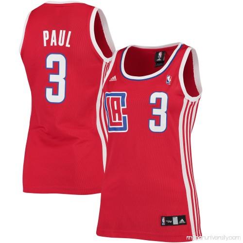 525c60fadd6 Women s LA Clippers Chris Paul adidas Red Road Replica Jersey - 2428668