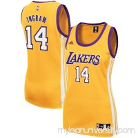 Women's Los Angeles Lakers Brandon Ingram adidas Gold Home Replica Jersey -   2609269