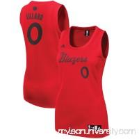 Women's Portland Trail Blazers Damian Lillard adidas Red 2016 Christmas Day Replica Jersey -   2512480