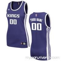 Women's Sacramento Kings adidas Purple Custom Road Replica Jersey -   2487940