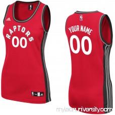 Women's Toronto Raptors adidas Red Custom Replica Home Jersey -   2280710